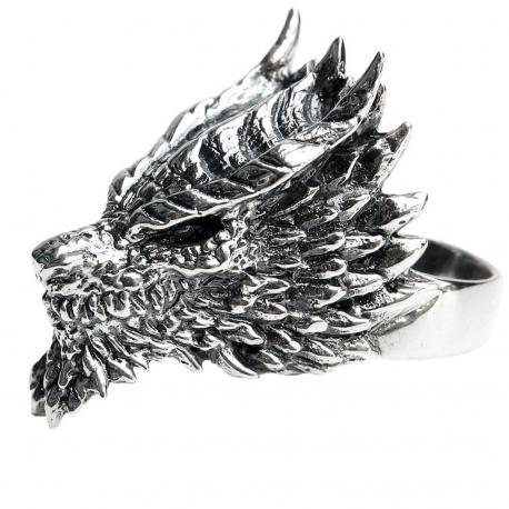"""Тяжелое кольцо """"Дракон"""""""