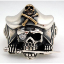 """Серебряное кольцо """"Пират"""""""