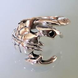 """Кольцо из серебра """"Скорпион"""""""