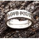 Двойное кольцо для влюбленных