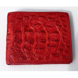 Бумажник из кожи крокодила