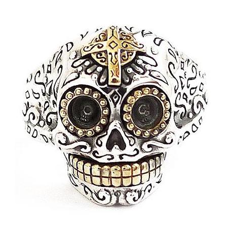 """Кольцо """"Мексиканский Череп"""""""
