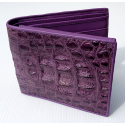 Бумажник из крокодила