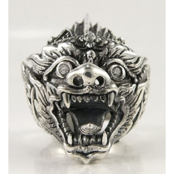 "Кольцо серебро ""Хануман"""