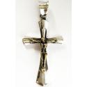 Кулон с золотым Христом