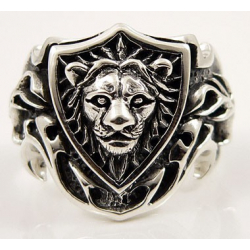 """Перстень """"Щит со львом"""""""