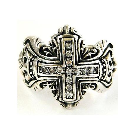 """Перстень """"Рыцарский Крест"""""""
