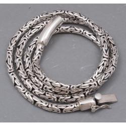 Серебряная цепочка 4 мм