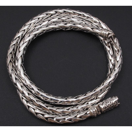 Плетенная цепочка 4 мм