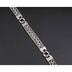 Плетенный составной браслет