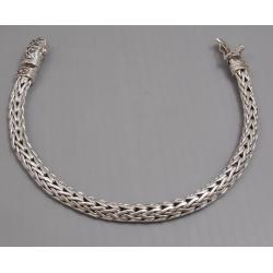 Плетенный браслет 7 мм