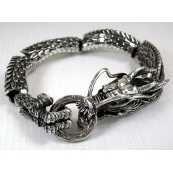 """""""Японский Дракон"""" мужской браслет"""