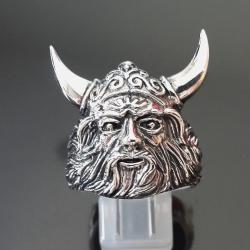 """Серебряное кольцо """"Викинг"""""""