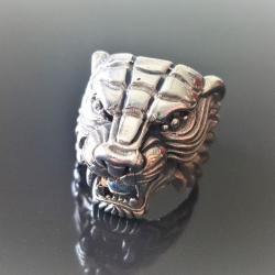 "Кольцо из серебра ""Тигр"""