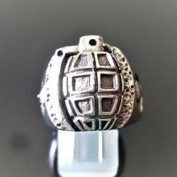 """Кольцо из серебра """"Граната"""""""