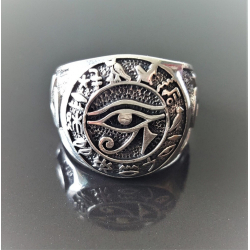 """Перстень серебро """"Око Ра"""""""