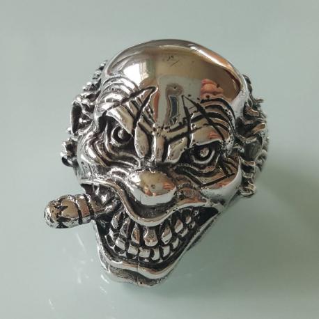 """Кольцо из серебра """"Джокер"""""""