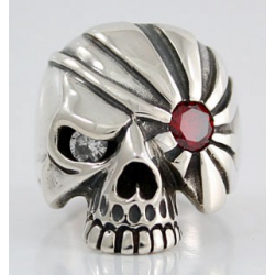 """Пират"" кольцо с гранатом"
