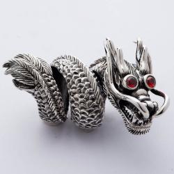 """Огромное кольцо """"Дракон"""""""