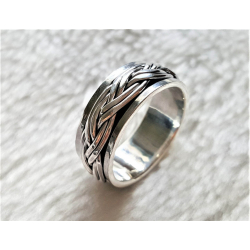 Кольцо-Спиннер из Серебра Унисекс