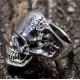 Мужское кольцо с черепом