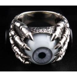 """Кольцо """"Глаз и Когти"""" серый"""