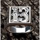"""Мужское кольцо """"Число 13"""""""