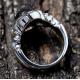 Кольцо с ониксом и узорами