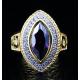 Женское христианское кольцо