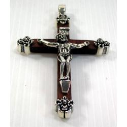 Крестик из дерева с Иисусом