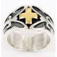 """""""Золотой кельтский крест"""" кольцо"""