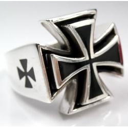 """Кольцо 925 """"Железный крест"""""""