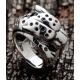 "Кольцо серебряное ""Гепард"""