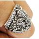 Кольцо с геральдической лилией