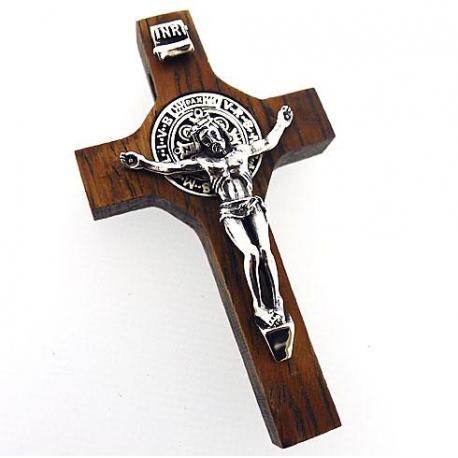 """Деревянный крестик """"Распятие"""""""