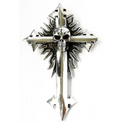 """Кулон """"Крест с Черепом"""""""