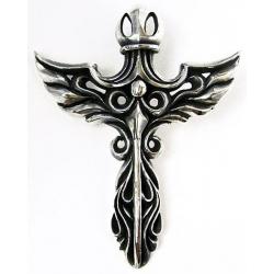Готический кулон крест