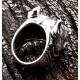 """Кольцо серебряное """"Питбуль"""""""