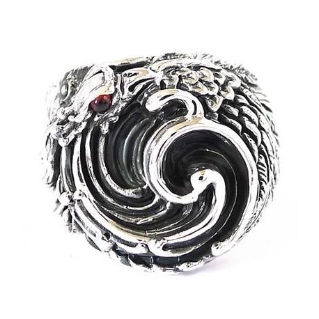 """Серебряное кольцо """"Феникс"""""""