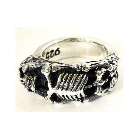 """Мужское кольцо """"Скелет"""""""