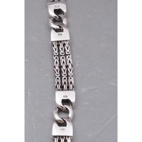 Тройной византийский браслет