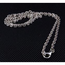 Мужская серебряная цепочка 2мм