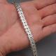 Плоский плетенный браслет