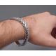 Плетенный наручный браслет