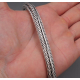 Плотно плетенный браслет