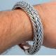 Тяжелый браслет плетенный