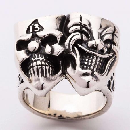 """Мужское кольцо """"Джокер"""""""