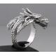 Кольцо в форме дракона