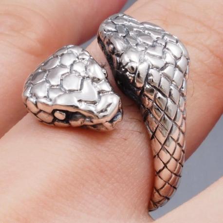 """Кольцо """"Две Головы Змеи"""""""