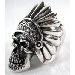 "Перстень ""Индеец"" серебро"